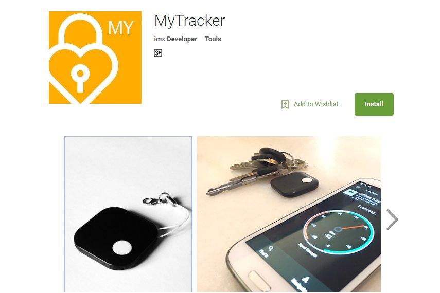 MyTracker - Long Range Bluetooth tracker