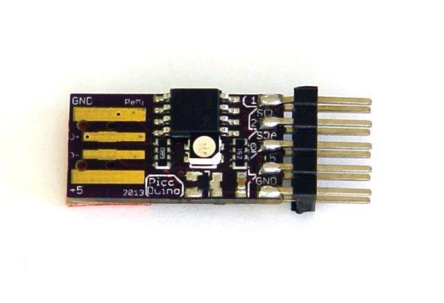 Picoduino attiny arduino rgb led from bobricius on tindie
