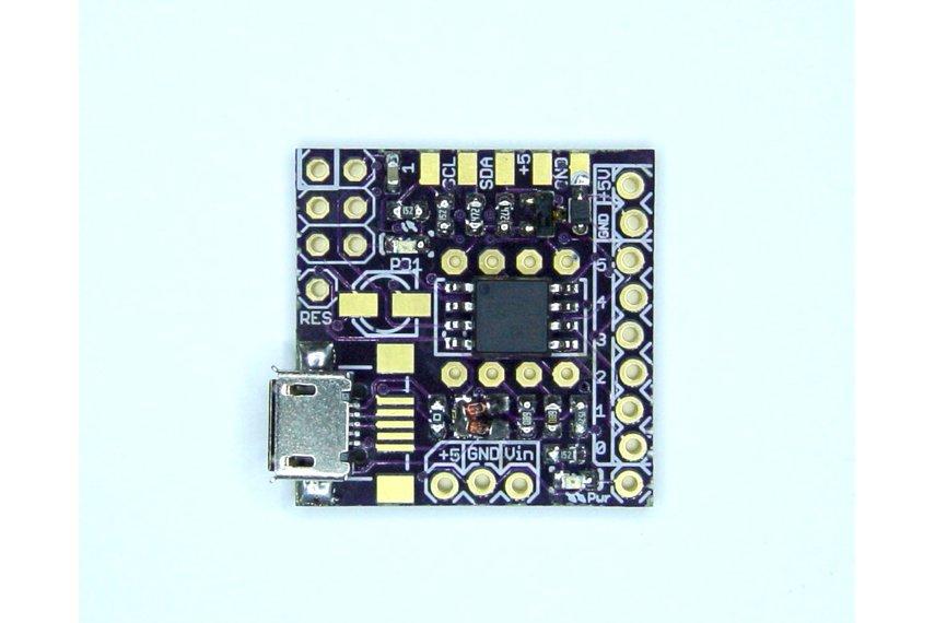 Attiny programmer mini micro usb arduino shield
