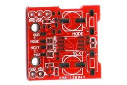 Bare PCB for micro SD card Wav player AtTiny85