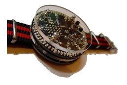 92 led charlieplexed ring circle watch, matrix