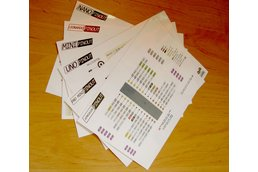 5pcs reference pinout cards for Arduino