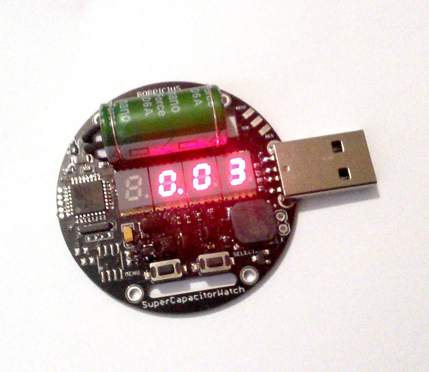 Supercapacitor powered arduino led wrist watch autos post