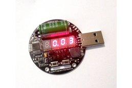 Supercapacitor powered arduino LED wrist watch