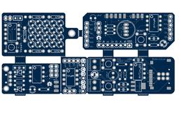 AtTiny85 programmer Arduino shield, PCB collection