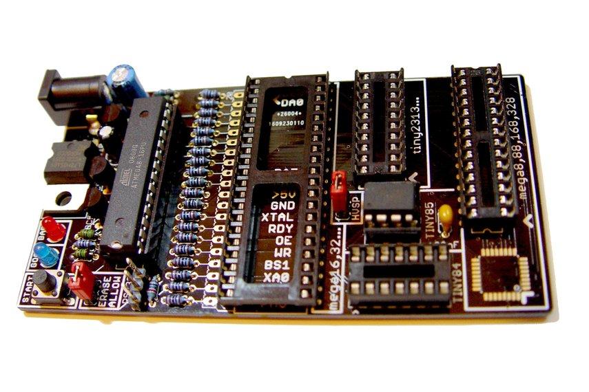 Bare PCB AVR fuse bit doctor HVPP  HVSP fix repair