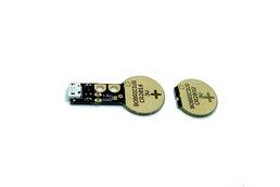 Coin cell battery emulator CR2016/CR2032