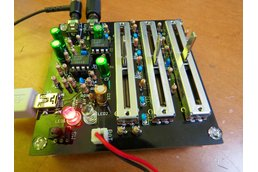 Simple stereo 3-band audio equaliser kit