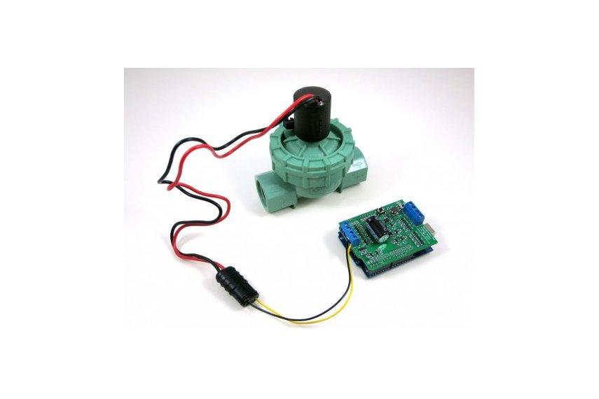 solenoid valve wiring polarity solenoid image opensprinkler bee arduino shield from rayshobby on tindie on solenoid valve wiring polarity