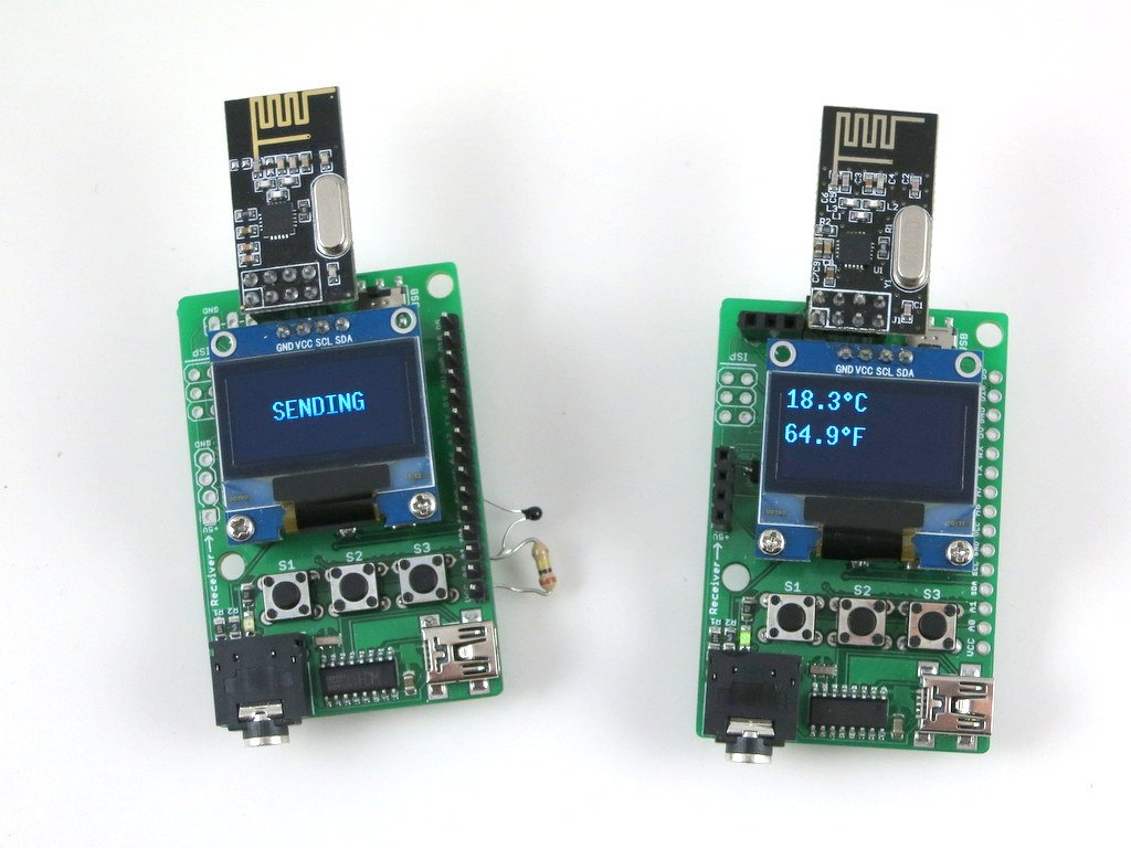 how to connect rf module to arm processor