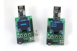 RFToy - Arduino-based RF dev. board, with OLED
