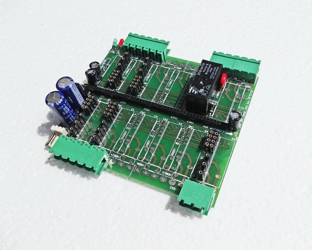 Base board for archimede and archiduino systems from