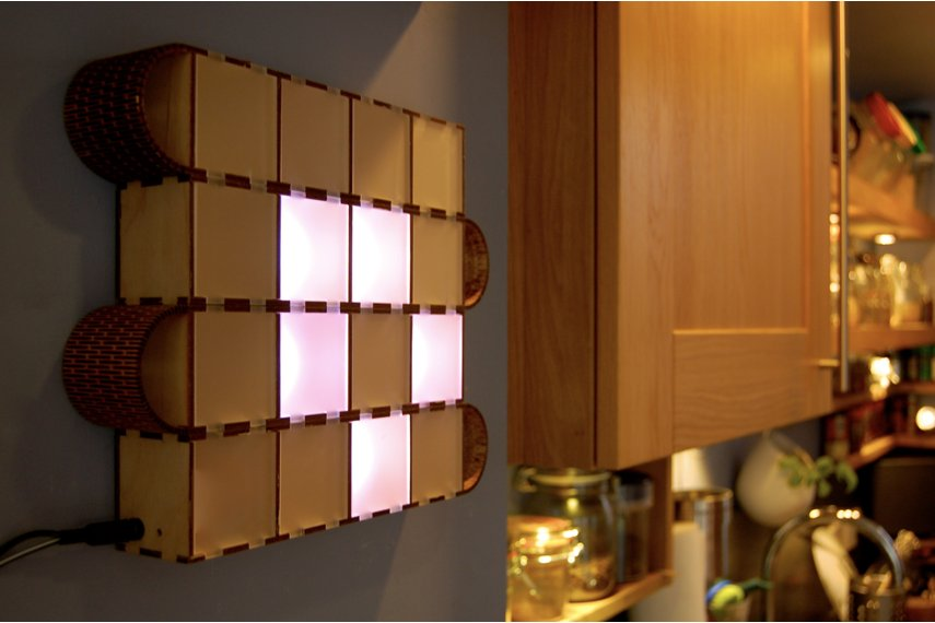 Wooden Bits - Wall Binary Clock