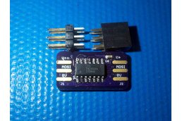 ICSP - a board for SPI level shift with IOFF