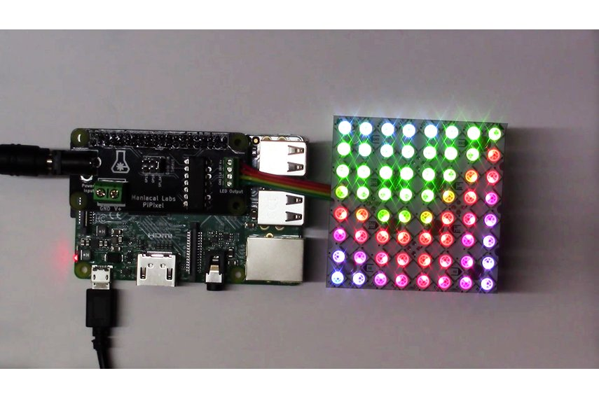PiPixel - Raspberry Pi LED Strip HAT