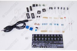 LM3915 DIY LED VU Meter Stereo Level Indicator
