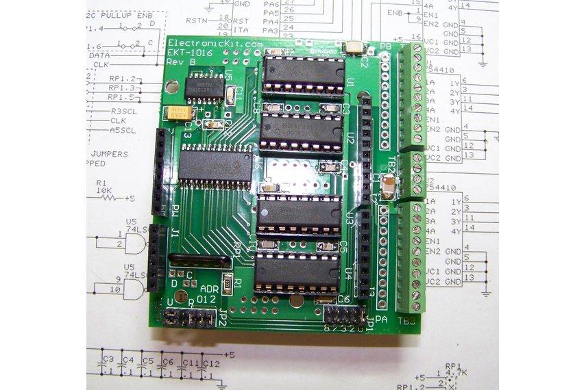 Arduino 16 Channel Digital Power Shield