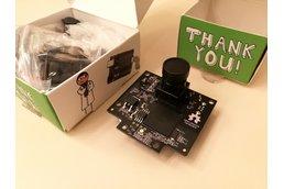 Pixy (object tracking camera) + Pan/Tilt Kit