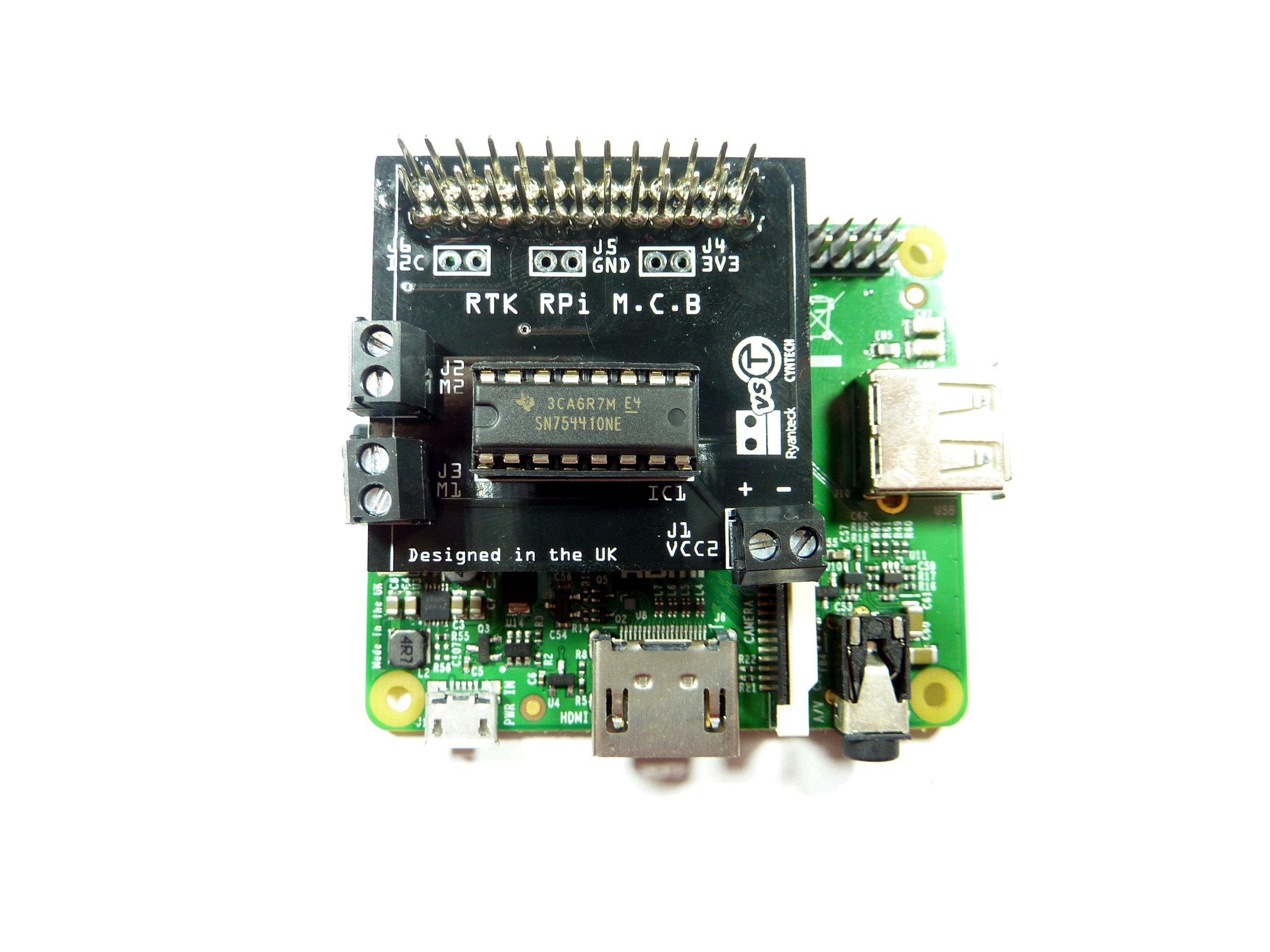 Rtk Motor Controller Board Kit For Raspberry Pi V2 From
