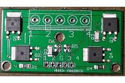 4-CH 2.5V logic level MOSFET board 20A,20V
