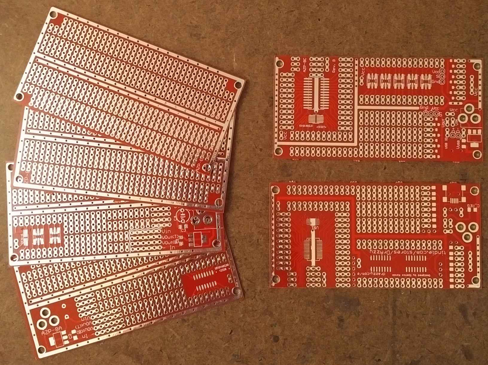 Quot prototyping project boards from drazzy on tindie