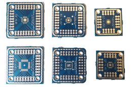 Breakout boards for QFN/VQFN/MLF SMD parts