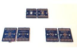 Breakout board for DFN/MSOP/WSON/VQFN-16
