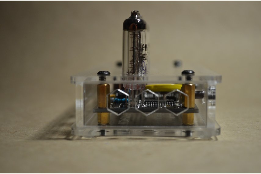 IV-9 Numitron Tube Clock