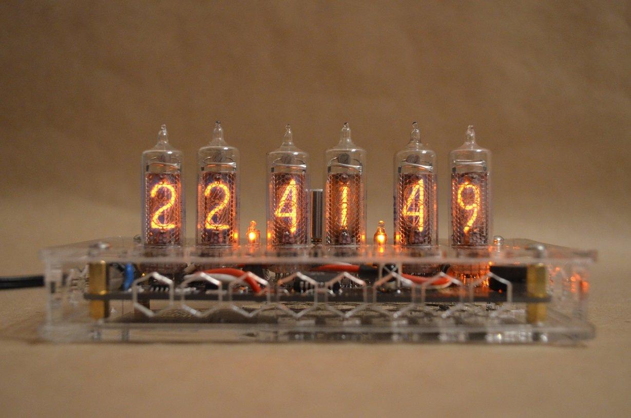 how to build a nixie tube clock