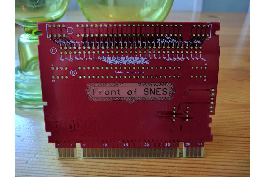 SNES Breakout and lock defeater