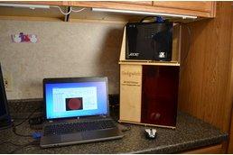 Sedgwick (TM) 3D DLP high resolution resin printer kit