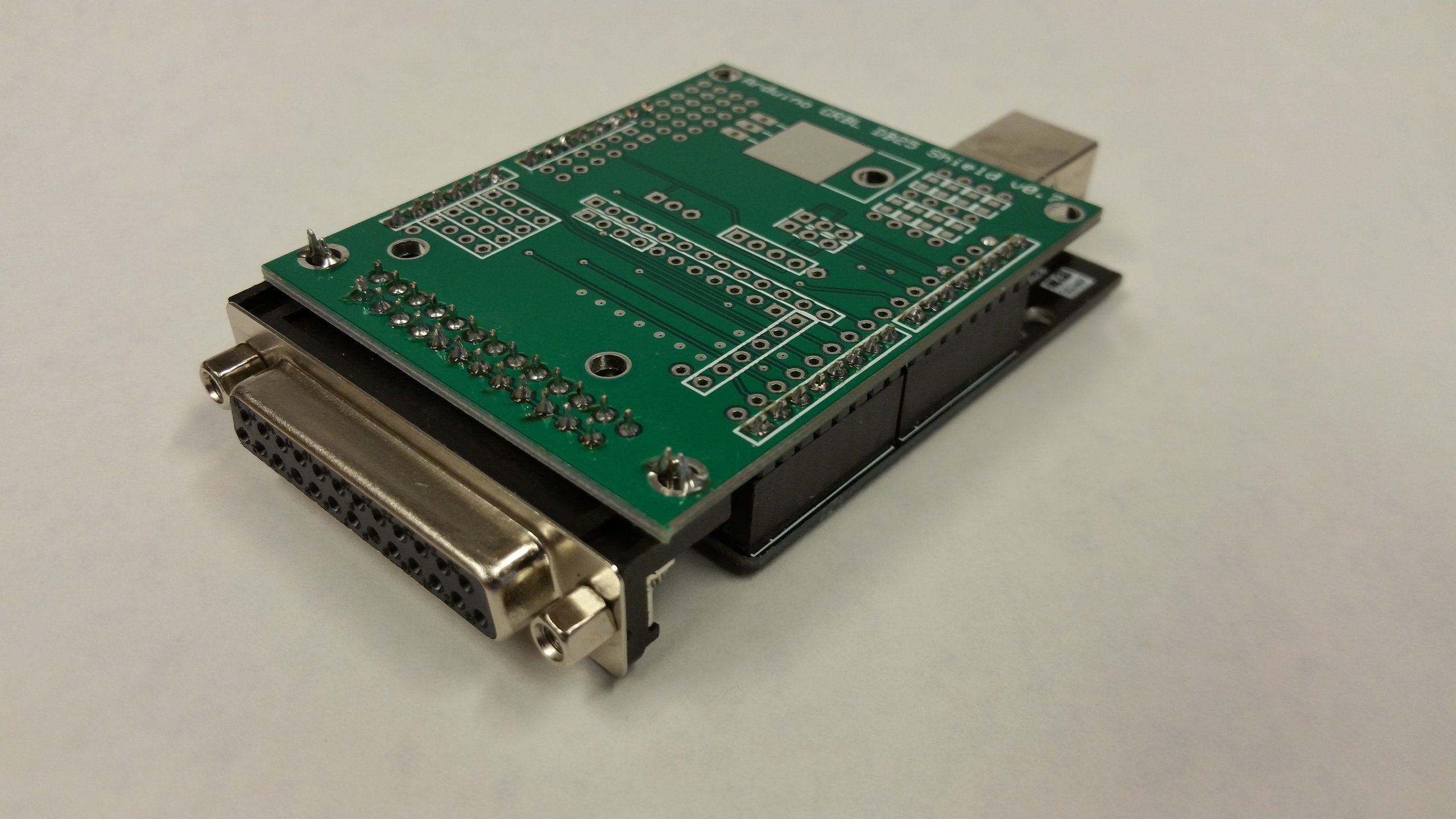 Arduino grbl to db cnc shield kit from ron on tindie
