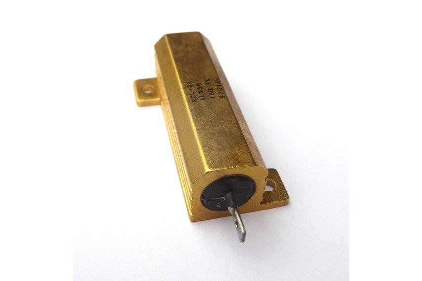 Precision 50W Resistor/Shunt 1% [16Ω or 1.6Ω]