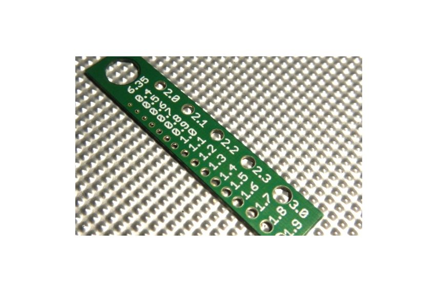 Component pin sizer