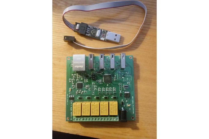 Iot w arduino ethernet development board from tinovi