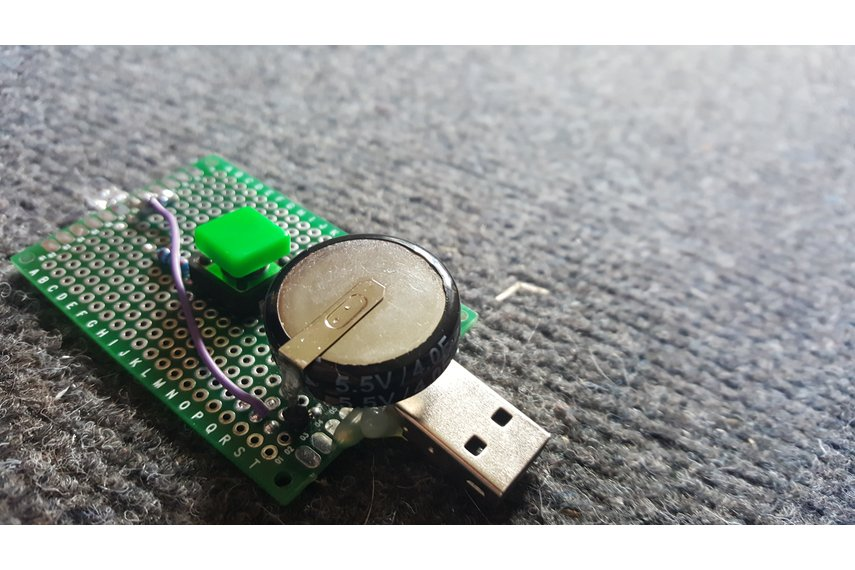 USB Capacitor Flashlight