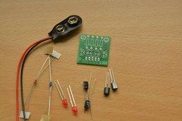 LED blinker soldering learning practice kit
