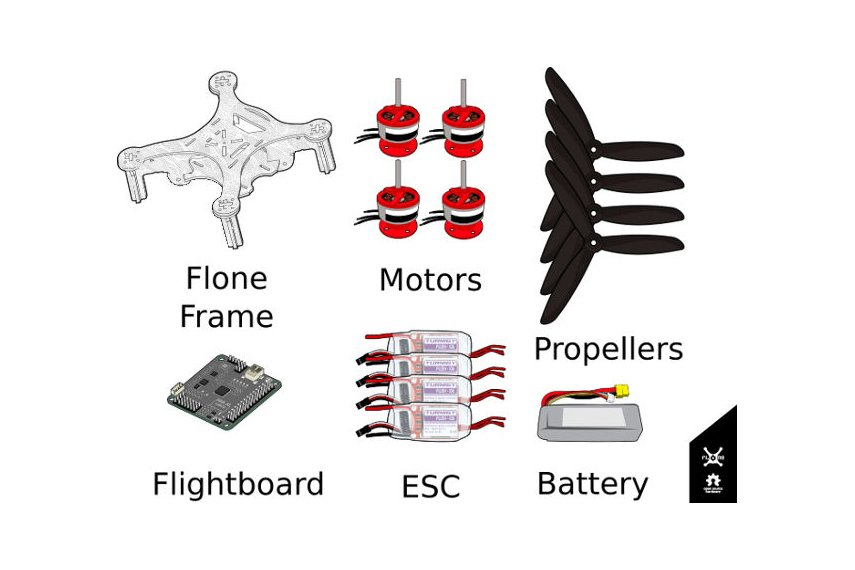 Flone  3.0  Drone Starting Kit