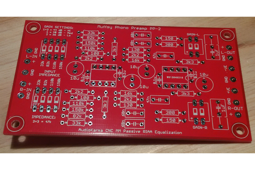 Muffsy Phono Preamp - PCB
