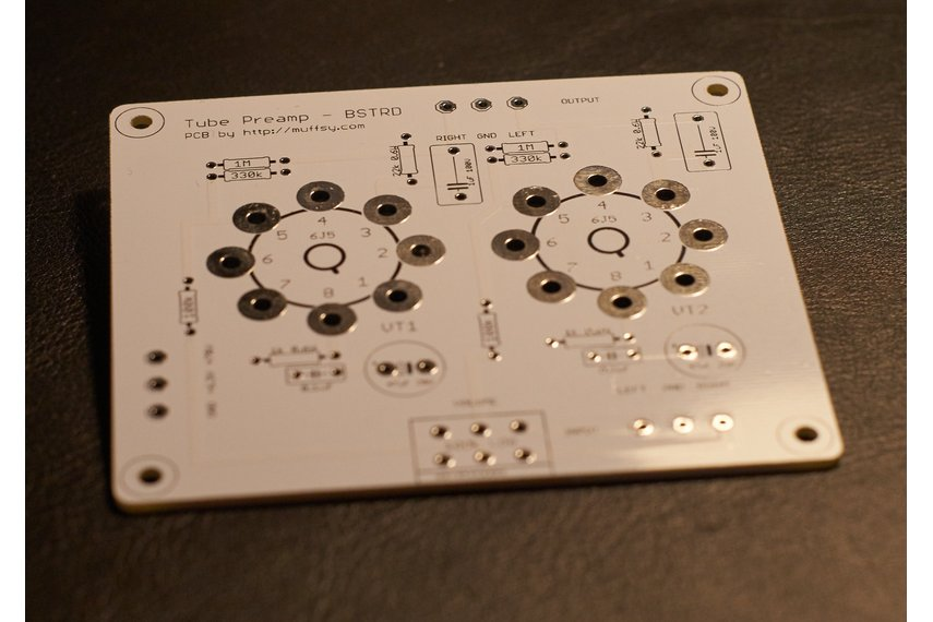 The Muffsy BSTRD - Class A Tube Preamp PCBs