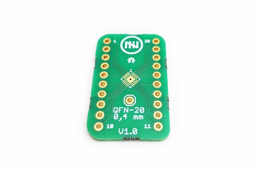 QFN-20 0.4mm Breakout