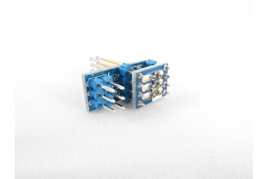 Pogo Pin ICSP SPI Programmer Adapter