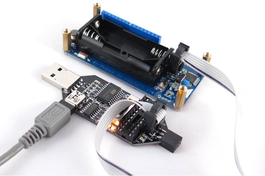 USBtinyISP AVR ATTiny programmer 5V, 3.3V, 2.7V