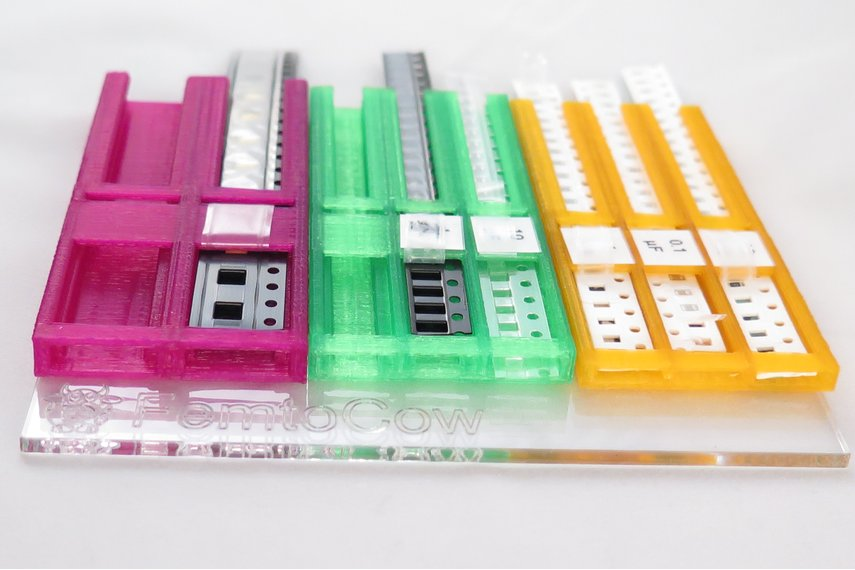 Set of 7 SMD soldering trays