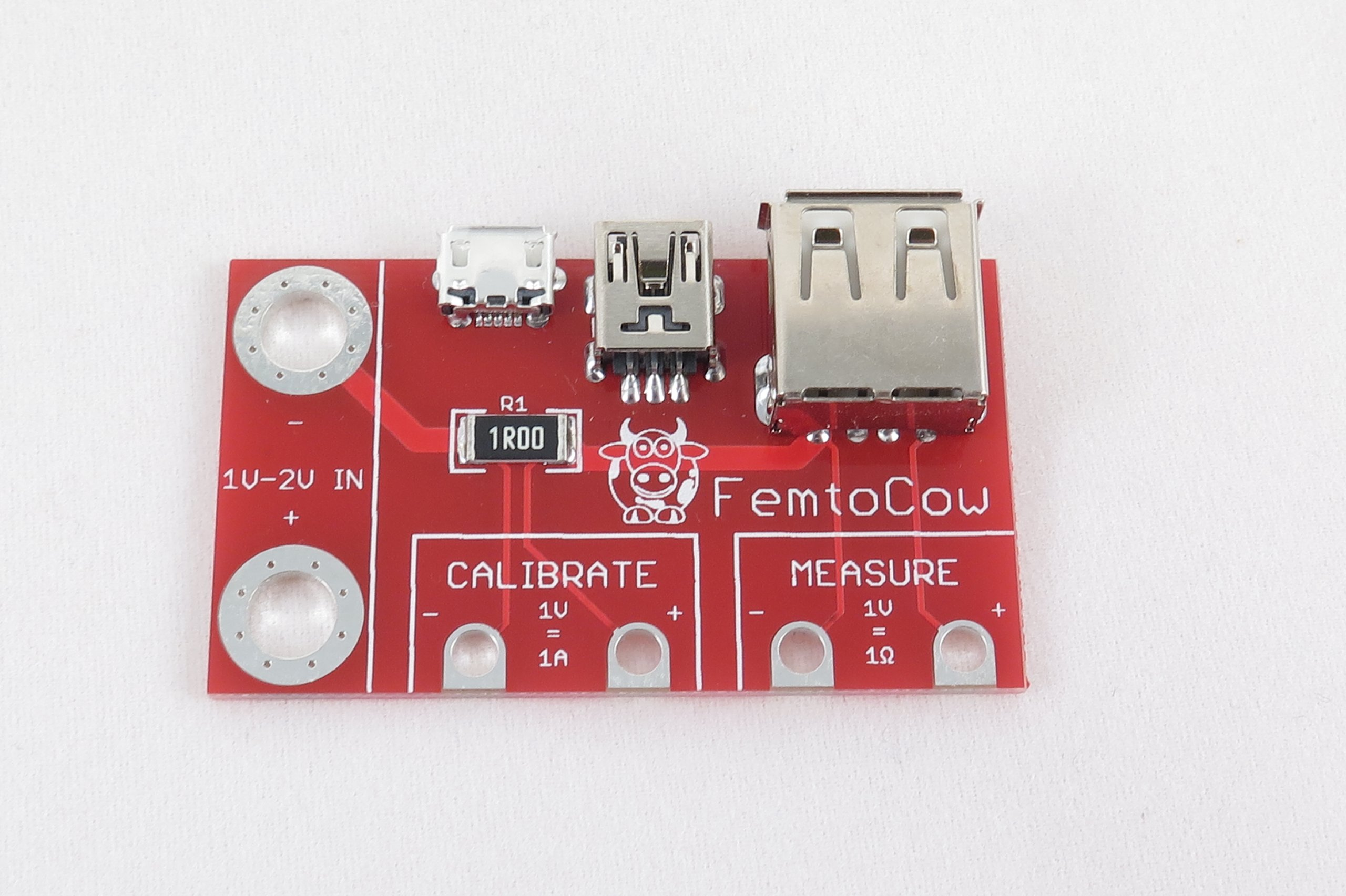 Cable Resistance Tester : Usb cable resistance tester from femtocow on tindie