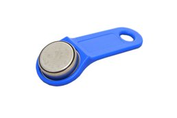 iButton compatible chip and key holder