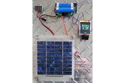 Solar Powered, Battery Back-Up Switching Regulator