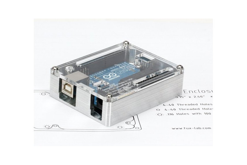 TuxCASE for Arduino UNO (Made in USA)