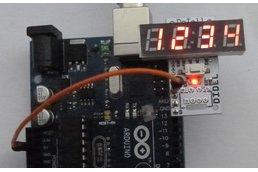 DiTell b - A low cost 4-digit debugging display