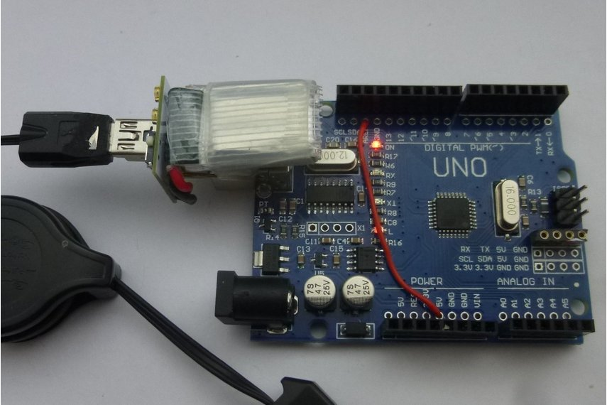 Usb-B adapter and Lipo for Arduino Uno